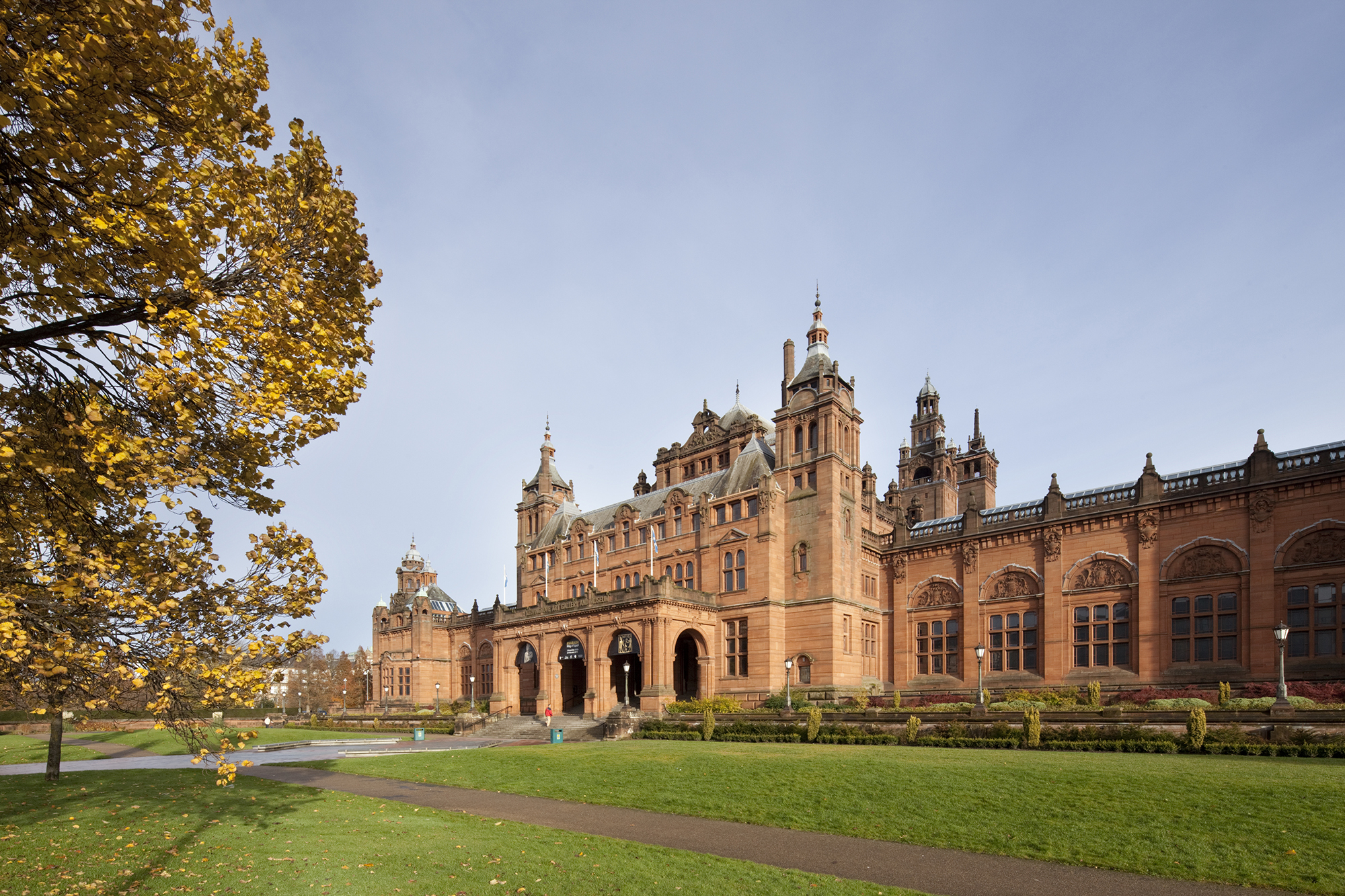 The Kelvingrove Museum and Art Gallery