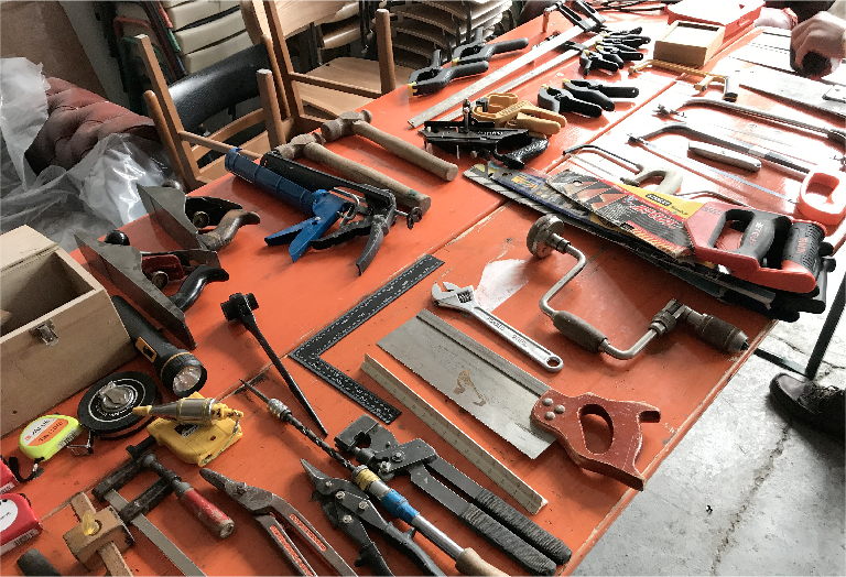 Glasgow Tool Workshop Donation Drive