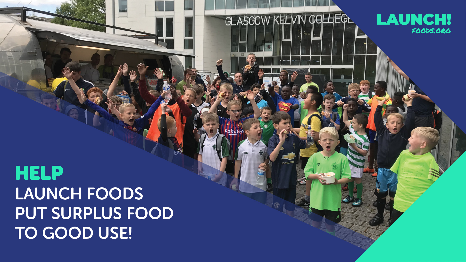 Appeal for volunteers to help Launch Foods…