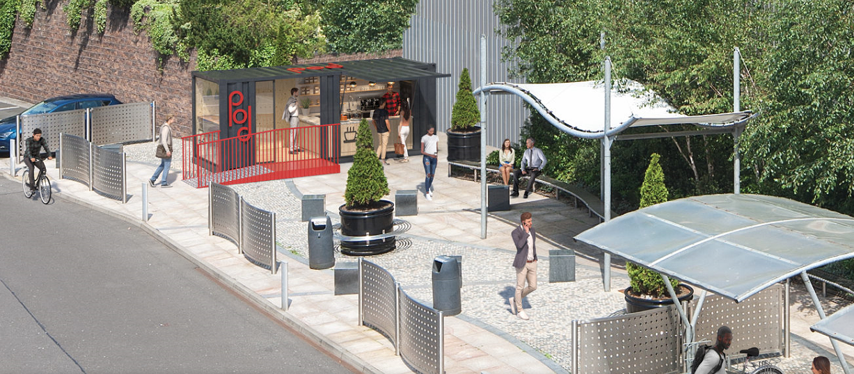 SKYPARK ACHIEVES PLANNING CONSENT ON FIRST OUTDOOR COFFEE POD